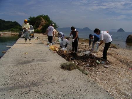 海岸清掃 (4)
